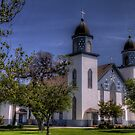 Church of the Visitation - Westphalia, Texas by Terence Russell