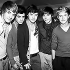 One Direction Digital Portrait by David Alexander Elder