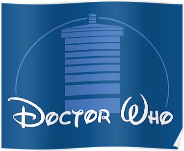 Doctor Who Disney by mollypopart