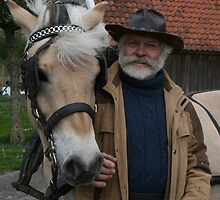 """Dieter"" Fjord horse with Bart by patjila"