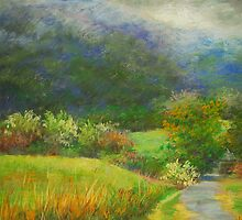 Foggy morning by Julia Lesnichy