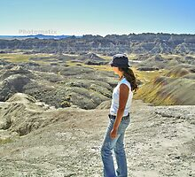 Viewing the vast landscape by Erykah36
