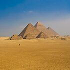 Pyramids of Giza by Dean Cunningham