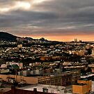 Moody City - View of the West by Hanzal