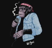 Wet Chimp by AustinJames