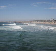 The vibrant coast of Newport Beach, California by DonnaMoore