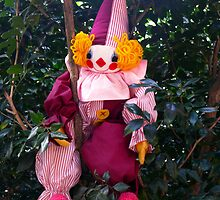 Clown in a Tree by PollyBrown