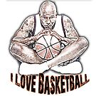 I Love Basketball by noeljerke