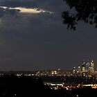 Perth City at Night by Leah Kennedy