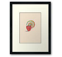 Strawberry Frye Framed Print