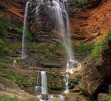 Wentworth Falls by TedmBinegas