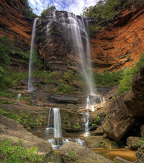 Wentworth Falls by TedmBinegas