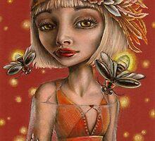 Venus and Fireflies by tanyabond