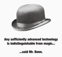 Mr. Benn - Futurist by robotrobotROBOT