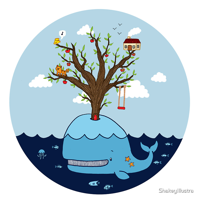 Whale of a Tree by ShakeyIllustra