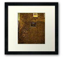 Old Building - Textured Framed Print