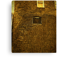 Old Building - Textured Canvas Print