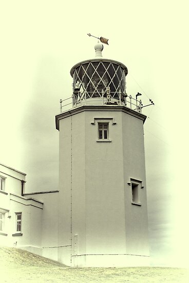Lighthouse on the Lizard by Catherine Hamilton-Veal  ©