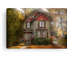 Victorian - Cranford, NJ - Only the best things   Canvas Print