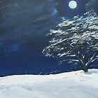 """""""The Still of the Night"""" (Image of an Oil Painting) by LBMcNicoll"""