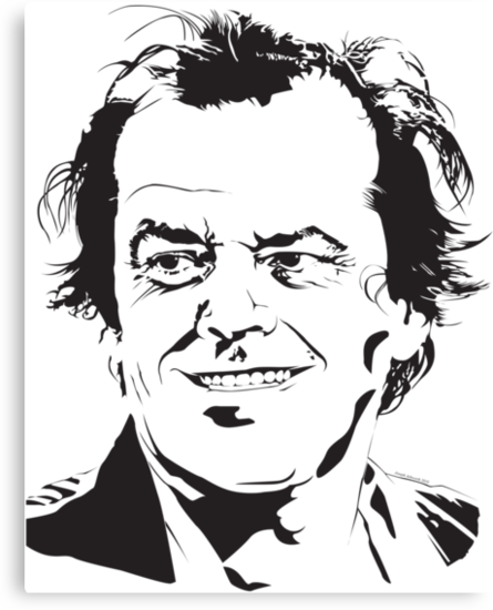 Jack Nicholson by jash