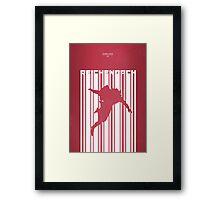 Sherlock: Reichenbach Framed Print