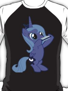 Luna with a Harmonica T-Shirt