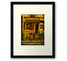 Once upon a time in Paris Framed Print