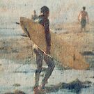 SURFER #150 by Laura E  Shafer