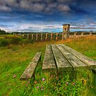 Alwen Reservoir by Adrian Evans