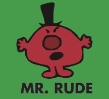Mr Men - Mr Rude by gemzi-ox