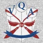 Official Victorian Quidditch Association T-Shirt by KatArtDesigns