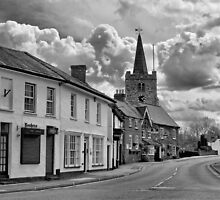 Rain Ahoy - Chobham High Street by Colin J Williams Photography
