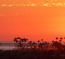 Sunset over Newport by s2kologist
