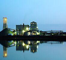Twilight at the Salt Mine by Lee Donavon Hardy