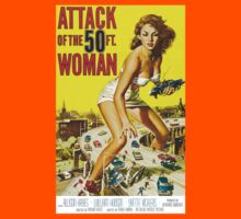 Attack of the 50 Foot Woman by ziruc