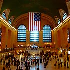 Grand Central Station New York City by Magdalena Warmuz-Dent