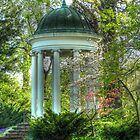 Philbrook Art Museum's Gazebo Garden  by bannercgtl10
