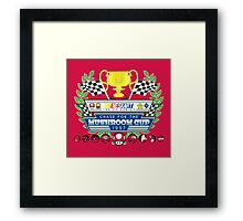 Chase for the Mushroom Cup Framed Print