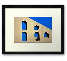 Five Arches of Jaipur Framed Print