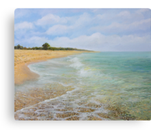 Beach Krapets Canvas Print