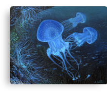 Dance Under Water Canvas Print