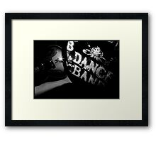 DANCE BAND. Framed Print