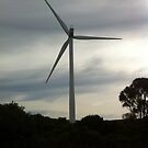 Wind turbine  by Djinni62