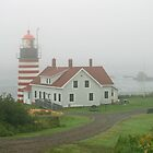 West Quoddy Head Light by Jack Ryan