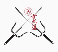 Kobudo T shirt with sai by Goran Medjugorac