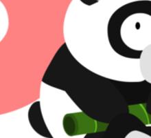 p for panda Sticker