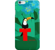 t for toucan iPhone Case/Skin