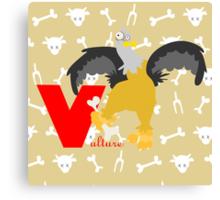 v for vulture Canvas Print