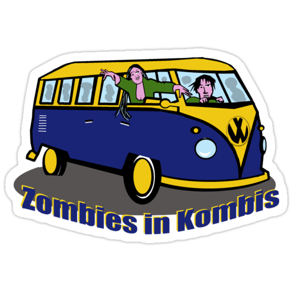 Zombies in Kombis by Anne van Alkemade